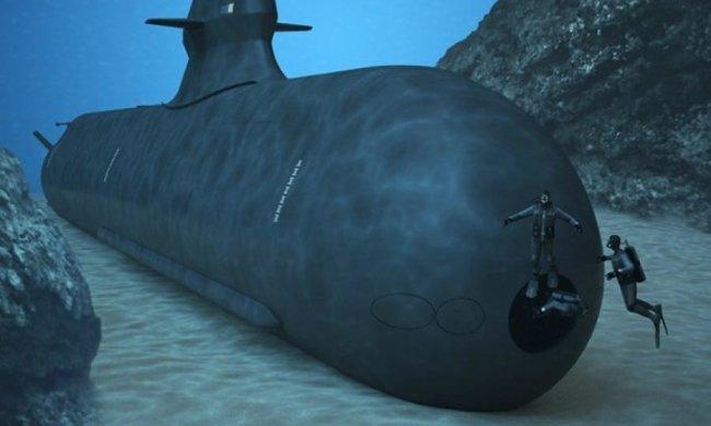 Шведи побудують підводний човен-привид