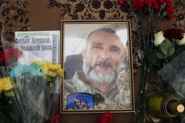 В Киеве простились с грузином, погибшим на Донбассе: жизнь отдал за Украину