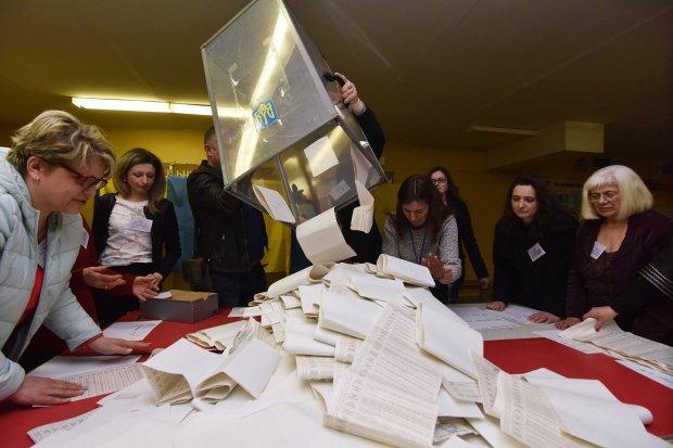 Парламентские выборы 2019: сражение востока и запада показали на картах
