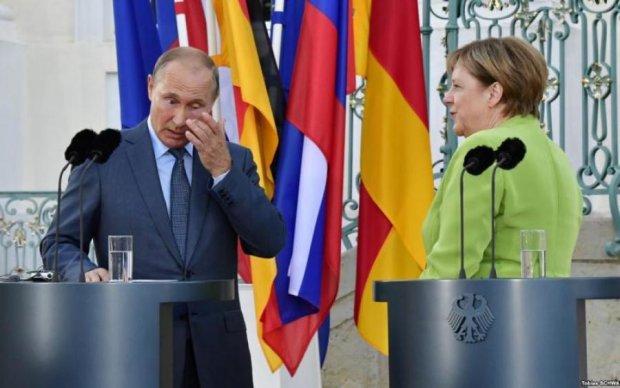 Меркель і Путін сходили на таємне побачення