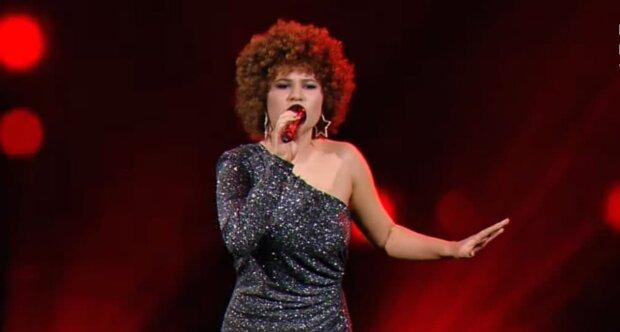 Ирина Эбралидзе, Голос країни, скриншот с видео
