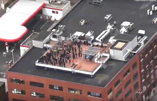 Захват заложников в Канаде, скрин с видео