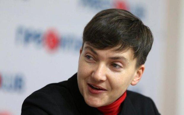 Савченко заявилась на эфир в образе Сталина
