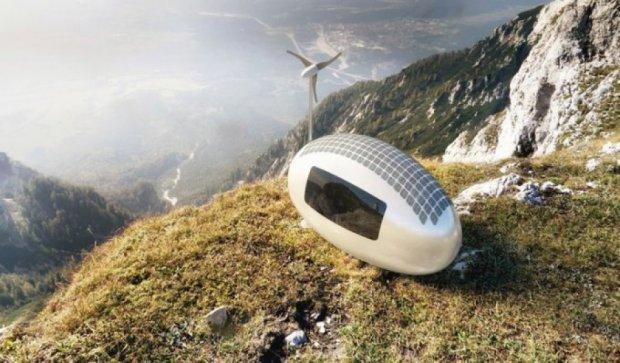 З'явився автономний пересувний будинок у формі яйця