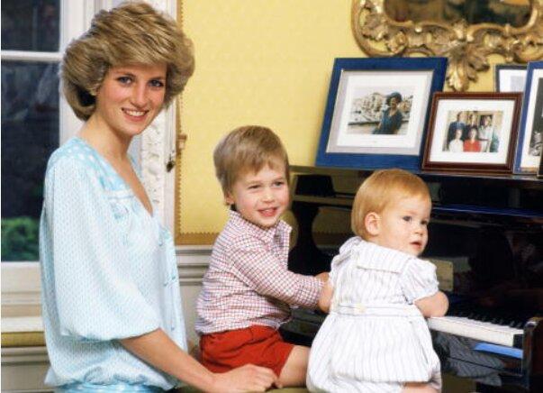 Принцесса Диана с сыновьями, Obozrevatel