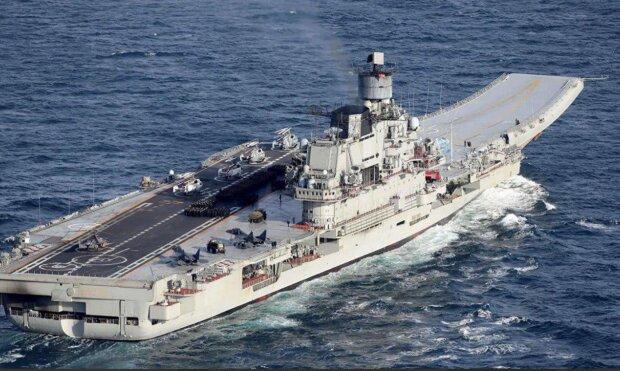 """У Мурманську загорівся крейсер """"Адмірал Кузнецов"""": є постраждалі, деталі з місця НП"""