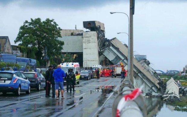Обвал мосту в Італії: рятувальники назвали нову кількість жертв
