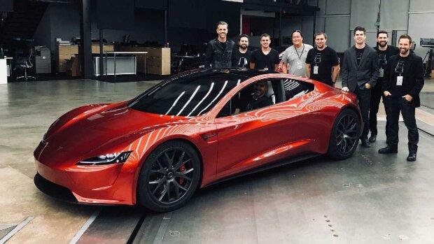Суперкар от Tesla, motor1