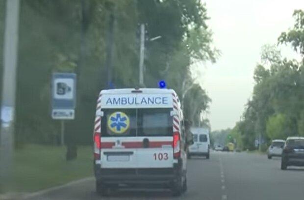 Швидка допомога, зображення ілюстративне, кадр з відео: YouTube