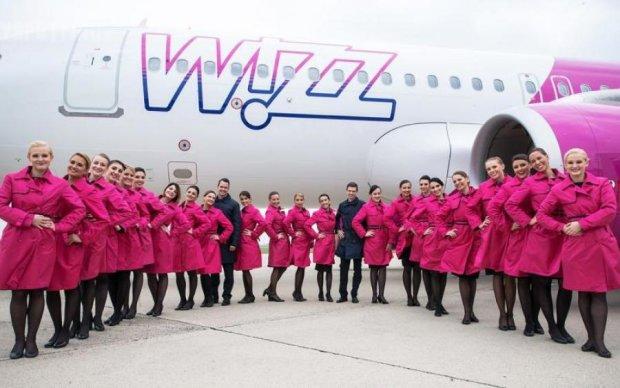 Wizz Air запускает копеечный рейс из Украины в Европу