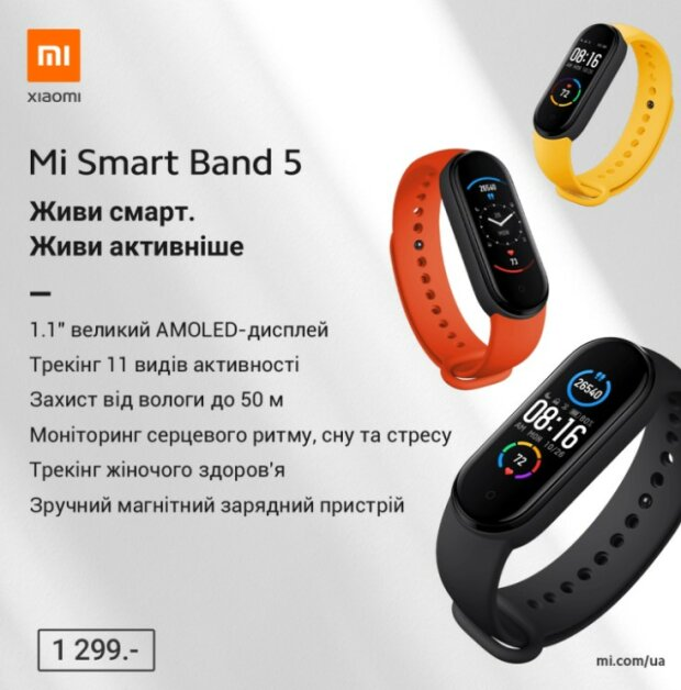 Xiaomi Mi Band 5, gizchina