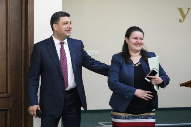 Гройсман та Маркарова