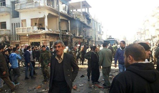 Кількість жертв серії терактів в Хомсі різко зросла