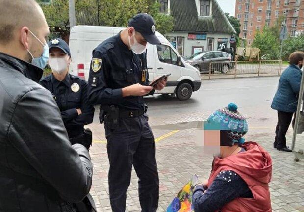 """У Франківську втретє затримали жебрачку із Закарпаття: """"Вони завжди повертаються"""""""