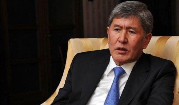 Захід провокує хаос в Центральній Азії - президент Киргизії