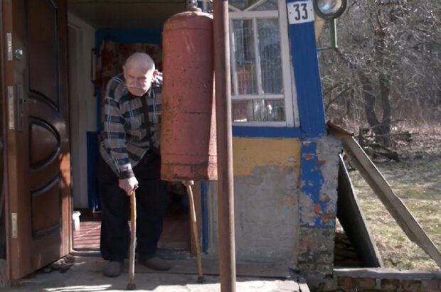 Иван Бухно, кадр из репортажа Суспільне: Facebook