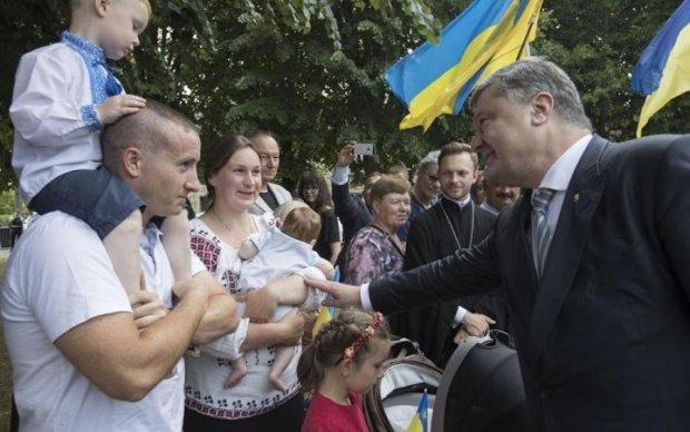 Порошенко розкрив секрет щастя для українців