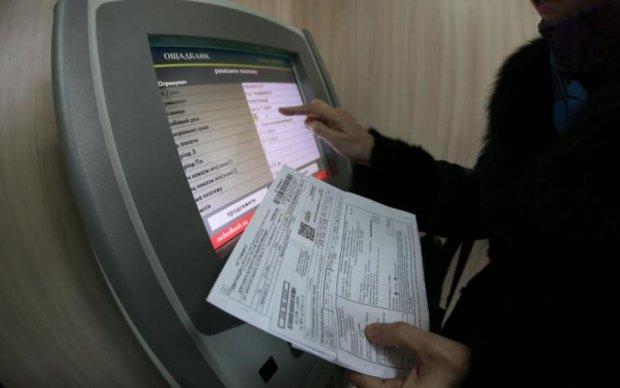 Киевлян предупредили об ошибках в платежках
