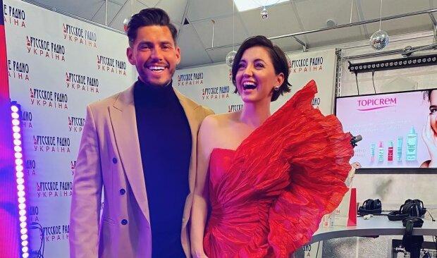 Микита Добринін і Оля Цибульська, фото з Instagram
