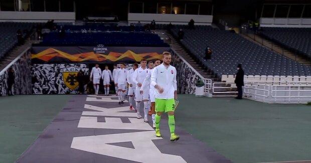 """""""Заря"""" ответила греческому АЕКу за прошлое поражение: разгромные 0:3 в Афинах"""