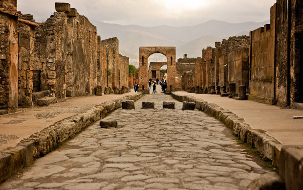 В Помпеях нашли останки лошадей. Они были запряжены и готовы к поездке. Ученые не могут поверить своему счастью