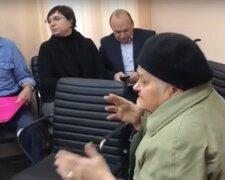 Онкохвора пенсіонерка, фото скріншот