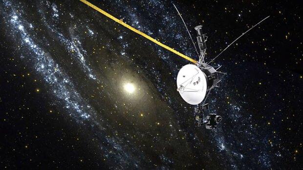 """Космічний зонд """"Вояджер"""", скріншот з відео"""