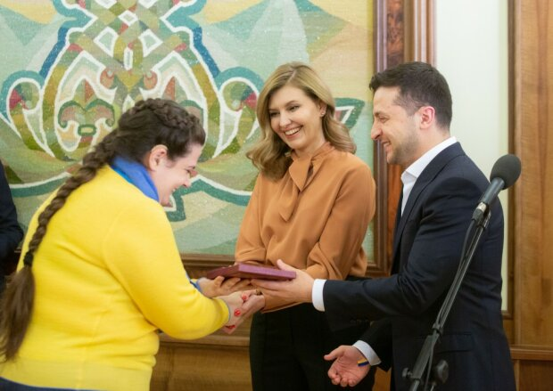 Олена Зеленська та Володимир Зеленський, сайт президента