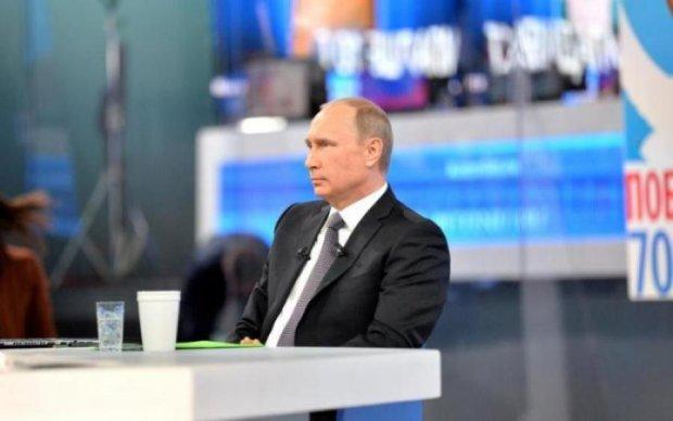 """Пряма лінія з Путіним: росіяни спробували достукатись до """"царя"""", але щось пішло не так"""