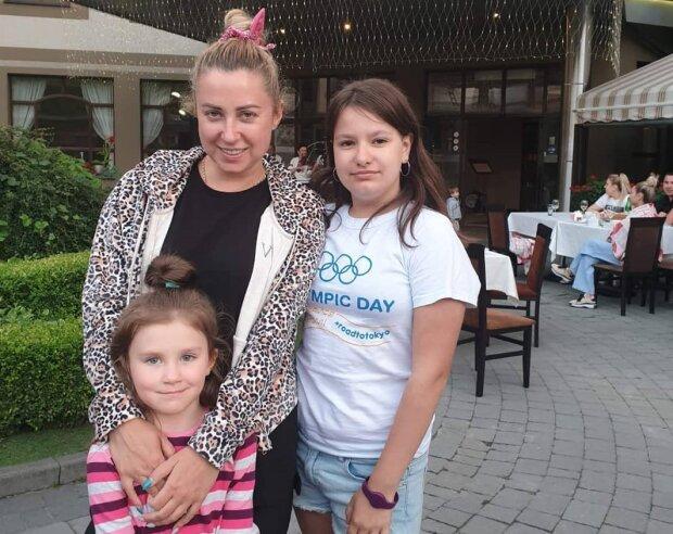 Тоня Матвиенко  с дочерью, фото с Instagram