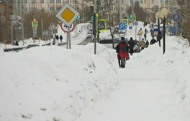 Погода взимку, скріншот: YouTube