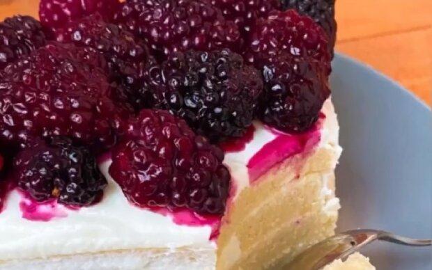 Як приготувати торт без борошна за 5 хвилин