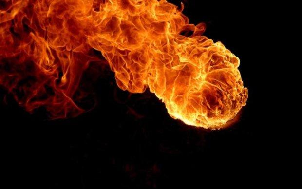 Вогняна куля паралізувала Бориспільську трасу
