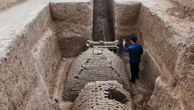 Раскопки в Китае