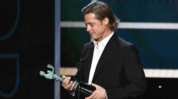 Брэд Питт на SAG Awards