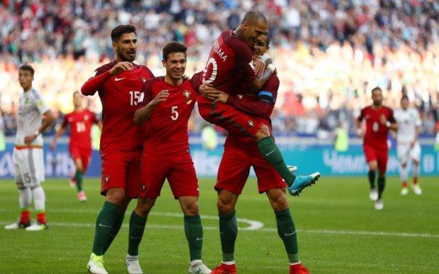 Португалія - Мексика 2:2 Відео голів та огляд матчу Кубку конфедерацій