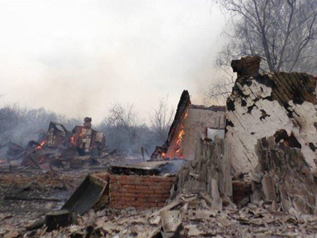 Знову згоріло півсела на Чернігівщині