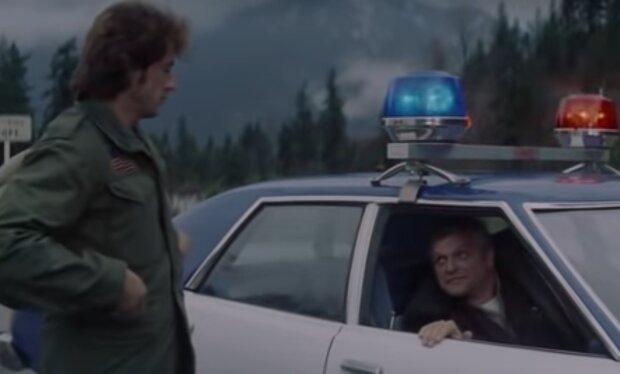 """Брайан Деннехі, кадр з фільму """"Рембо"""""""
