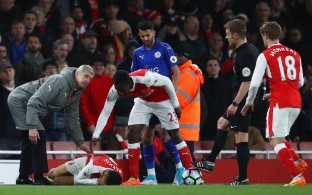 Гравці Лестера та Арсеналу помірялись травмами після матчу