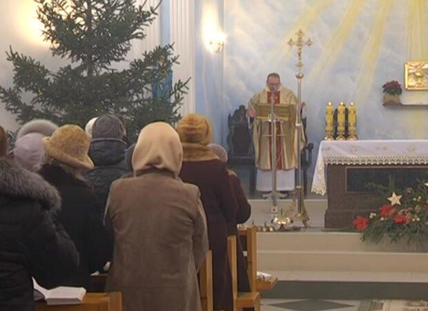 Католическое Рождество, скриншот видео
