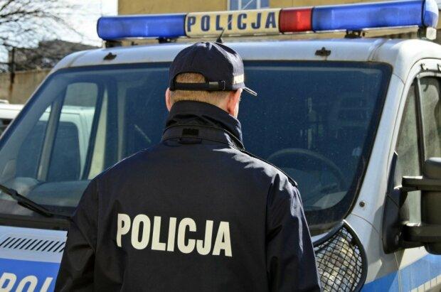 Полиция Польши, фото Зик