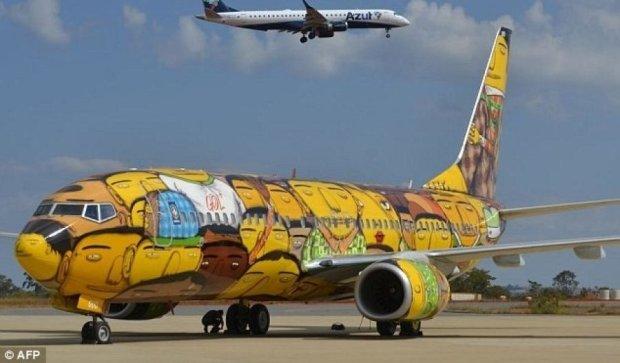 Збірна Бразилії отримала новий літак