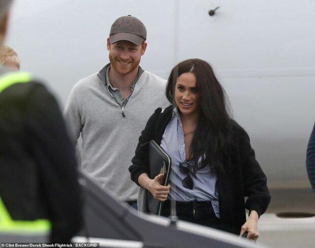 Принц Гаррі і Меган Маркл, фото BackGrid