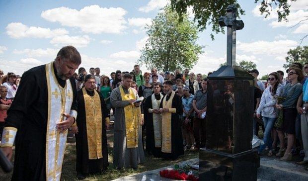 Скрябіну встановили двометровий пам`ятник