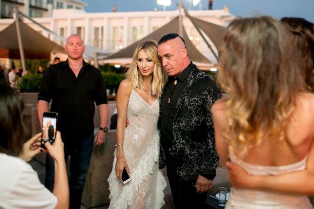 Тилль Линдеманн и Светлана Лобода