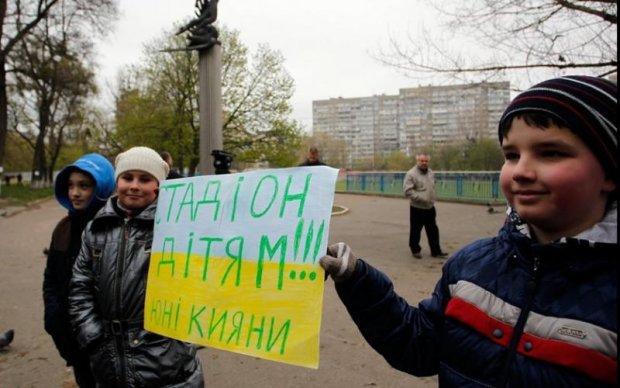 У Києві реконструюють стадіон Старт