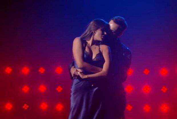 Даша Ульянова і Сергій Мельник, скріншот з відео