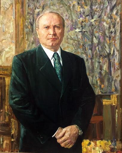 Портрет Віктора Ковтуна, Фото з сайту Музей українського живопису