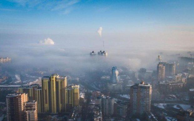 Навіть кияни не впізнають: дрон зробив неймовірні знімки столиці