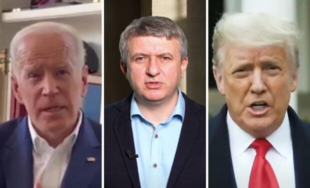 Джо Байден, Юрій Романенко, Дональд Трамп